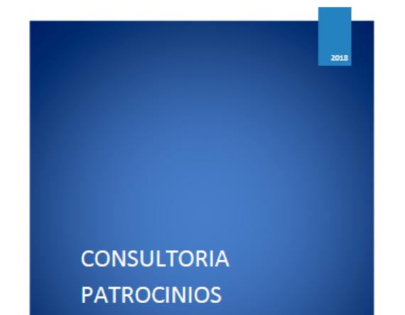 Documento consultoría patrocinio